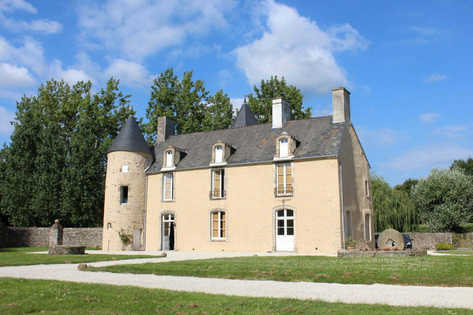 Façade Ouest - Manoir de Basmarescq