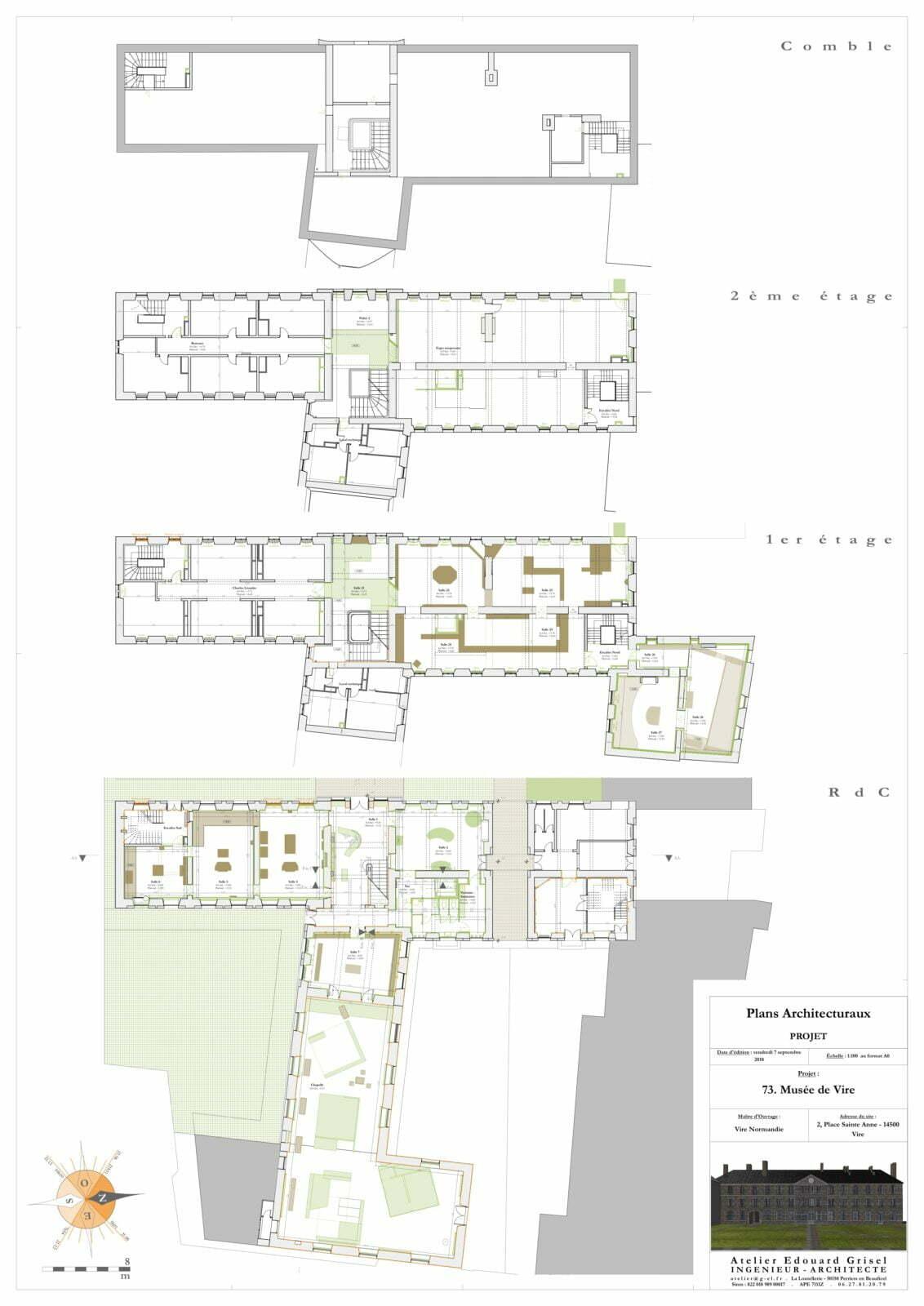 3. Plans Architecturaux