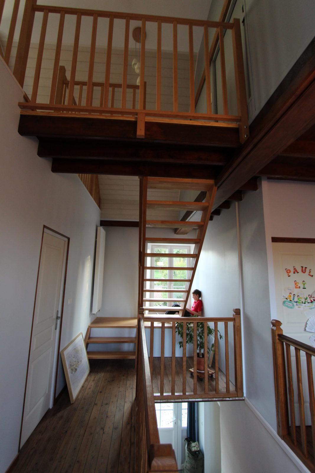 Cage d'escalier - Maison Barraut