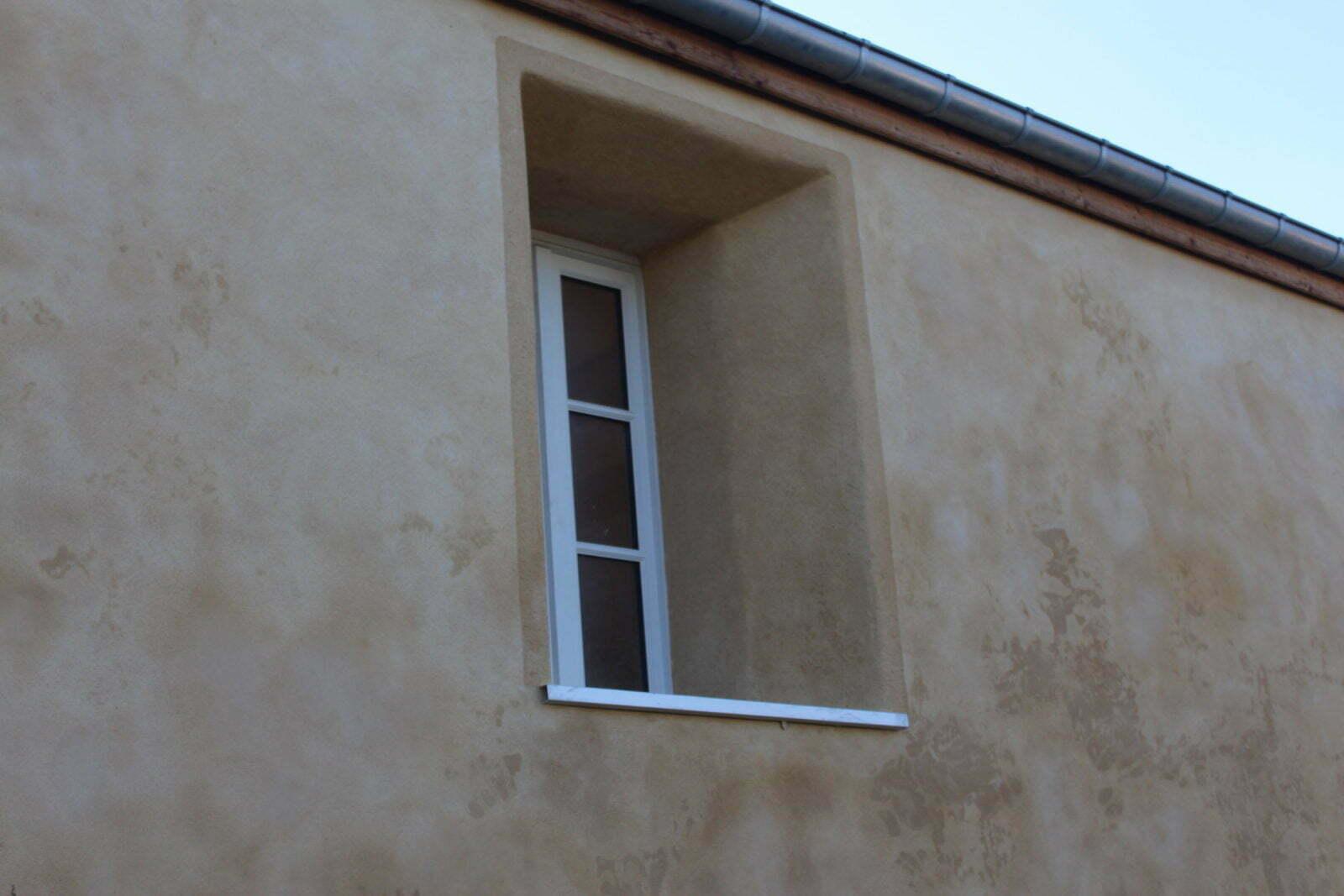 Encadrement de fenêtre - La Pairièrie