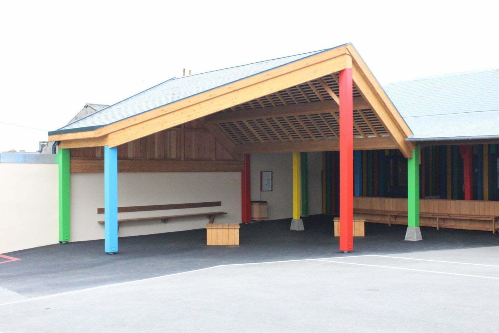 Préau - École Saint Martin