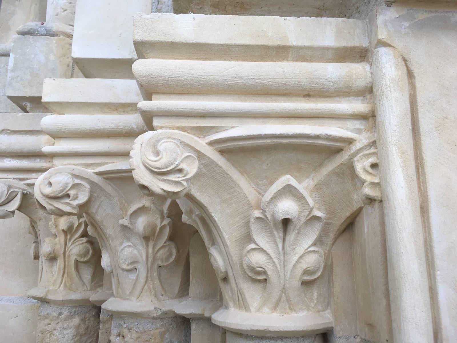Restauration des pierres de taille - Église Saint Vigor - Bodin
