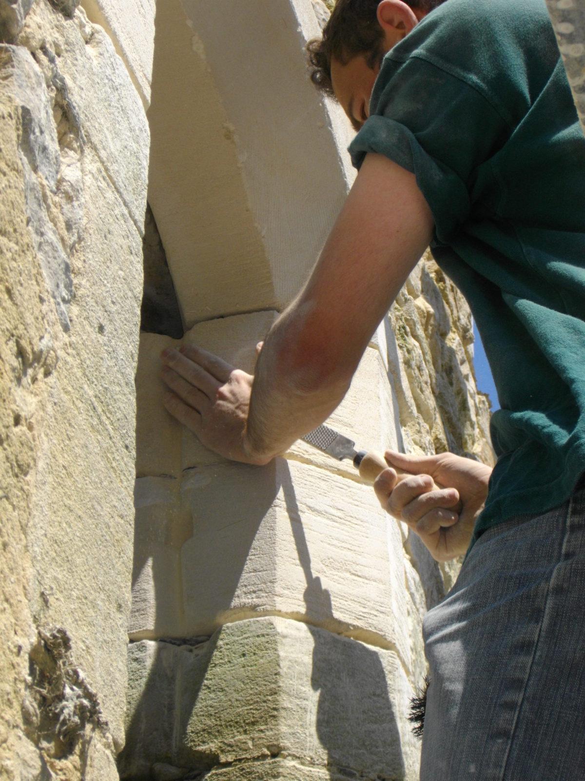 Taille de pierre - Formation Greta